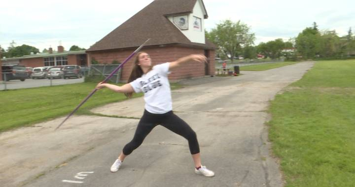Kaylee Clark is Gananoque's golden girl in track and field