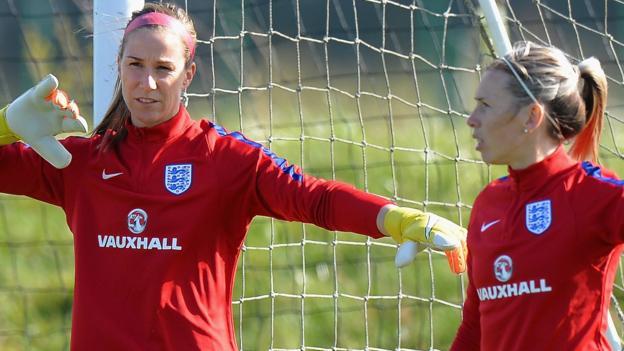 Women's World Cup: England goalkeeper Karen Bardsley happy to put 'ego on the shelf'