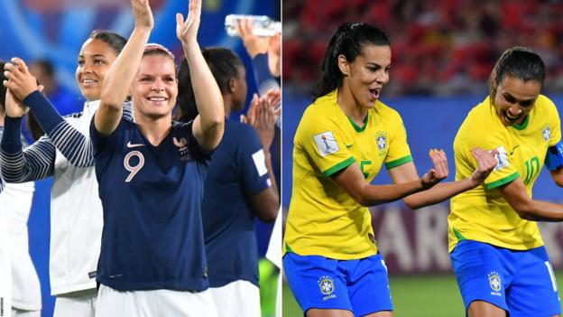 Women's World Cup 2019: Key Brazil duo Marta and Formiga doubts to face hosts France
