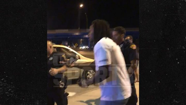 Kareem Hunt Video with Cops After 'Small Argument' with Friend