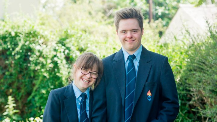 Teens with Down's Syndrome crowned King and Queen of prom after falling in love