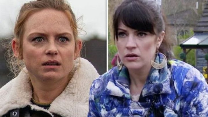 Emmerdale spoilers: Kerry and Amy Wyatt in explosive showdown as Nate secret comes out?