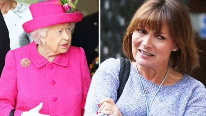 Lorraine Kelly: ITV star 'hyperventilating and crying' in 'nervous' moment with the Queen