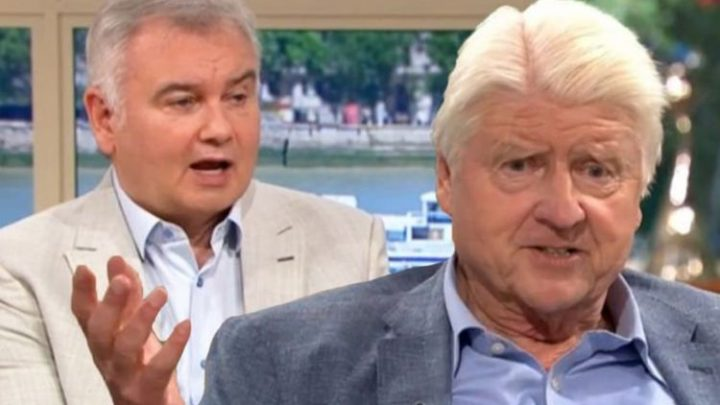 This Morning: Stanley Johnson furiously defends son Boris after Eamonn Holmes jibe