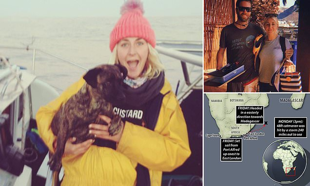 British eco entrepreneur, 34, drowns after a storm smashes into yacht