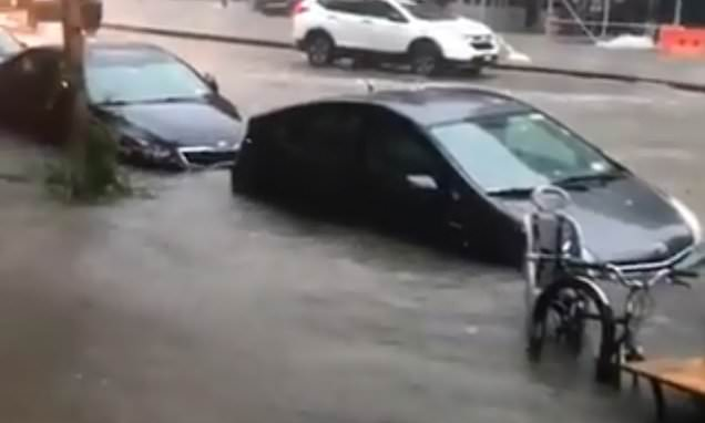 Severe storm causes flash flooding in New York