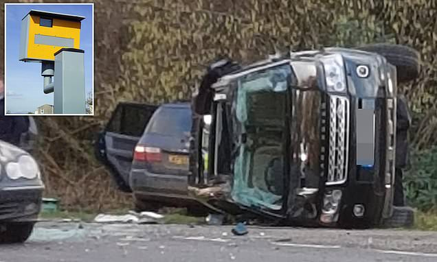 Council install six speed cameras on road where Prince Philip crashed