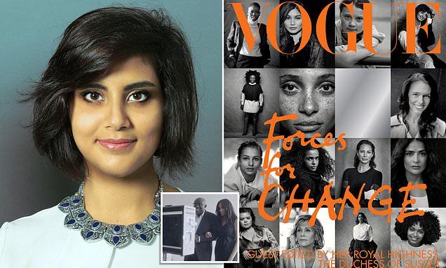 Campaigners slam decision to leave activist off Meghan's Vogue list
