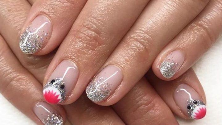 These 25 Shark Week Nail Art Looks Are Scary Good