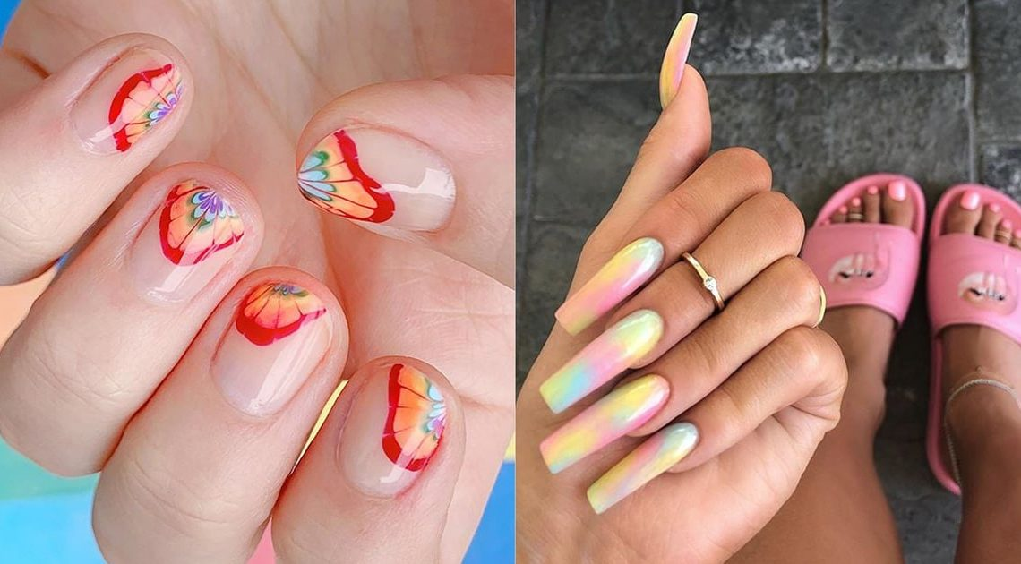 These Are the Easiest Ways to Do Tie-Dye Nails at Home