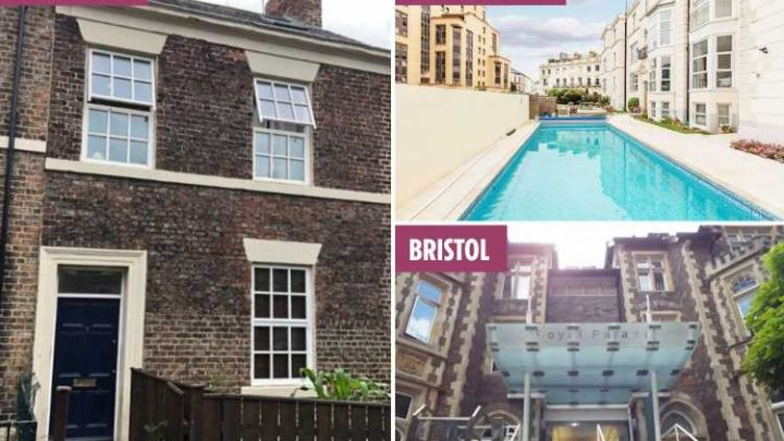 From a four-bed house in Newcastle to a one-bed flat in Bristol – here's what £1k rent will get you across the UK