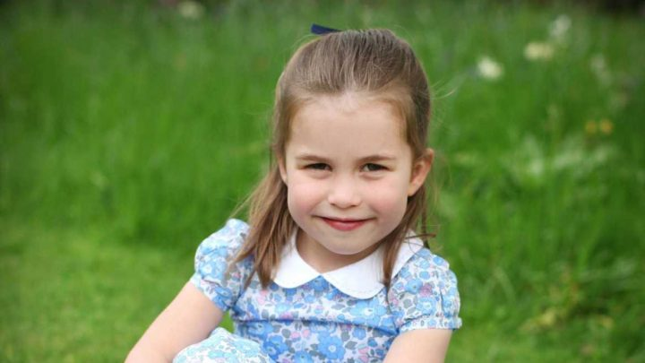 How old is Princess Charlotte and and what is her full name?