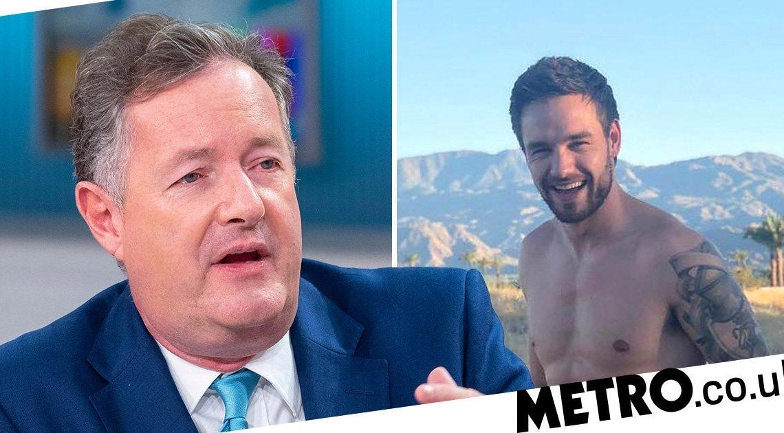Piers Morgan has some thoughts abou Liam Payne's 'cringe' naked photoshoot