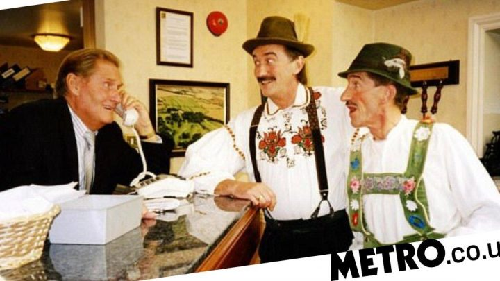 Paul Chuckle 'devastated' after brother Jimmy Patton dies aged 87