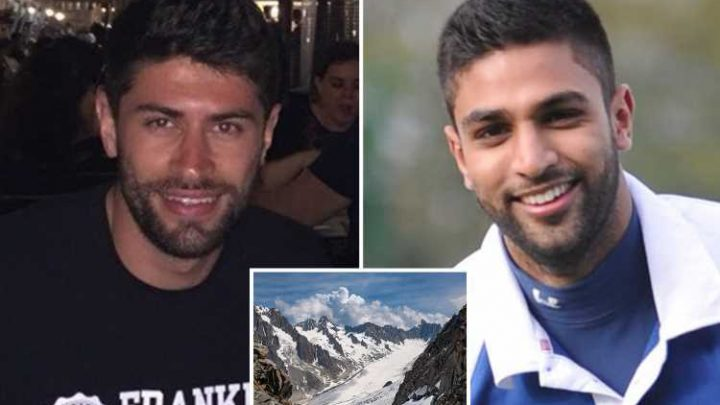 Two Brits plunged to their deaths off ice-covered mountain on first day of ski holiday in France – The Sun