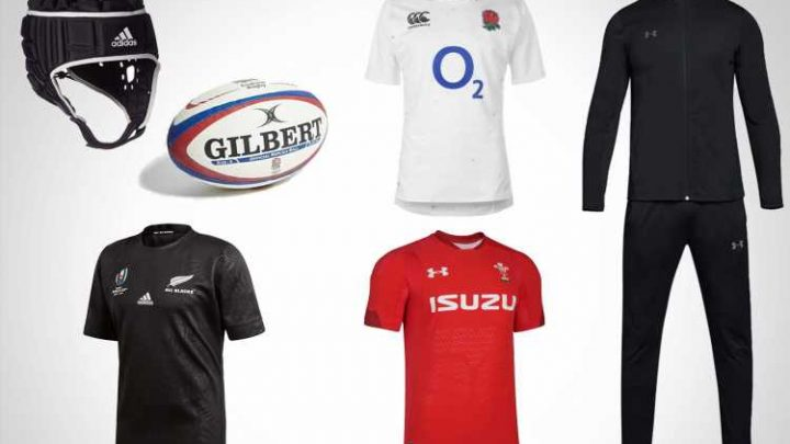 Get ready for the Rugby World Cup with these kits and accessories from Adidas, Under Armour and JD Sports