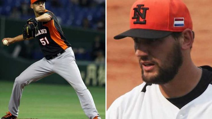 Tallest baseball star Loek van Mil – 7ft 1in – dies aged 34 after hitting his head on rocks and fracturing skull eight months ago – The Sun