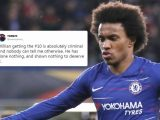 Chelsea hand Eden Hazard's No10 shirt to Willian and fans are raging – The Sun