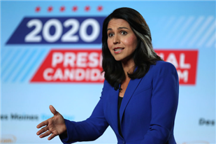 Tulsi Gabbard Sues Google, Says Her Free Speech Rights Were Trampled