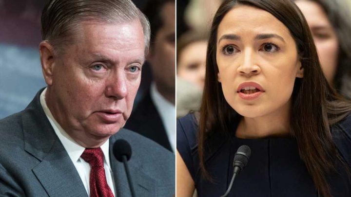 AOC claps back at Lindsey Graham over 'Communist' charge