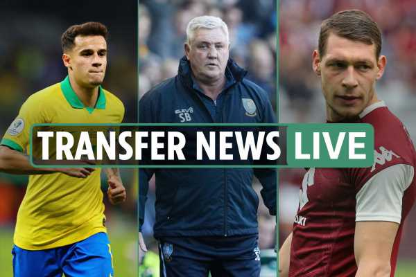 6pm transfer news LIVE: Coutinho two-year Liverpool loan, Newcastle pay £4m Bruce compensation, West Ham £60m Belotti bid rejected – The Sun