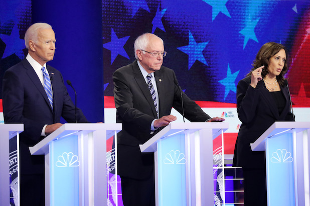 Democratic Debate Match-Ups Set: Biden Vs. Harris; Sanders Vs. Warren