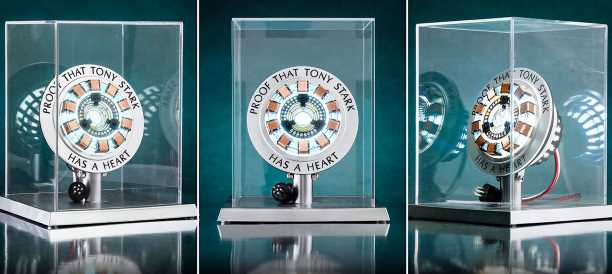 Cool Stuff: Life-Size 'Iron Man' Arc Reactor Replica Coming from Hot Toys