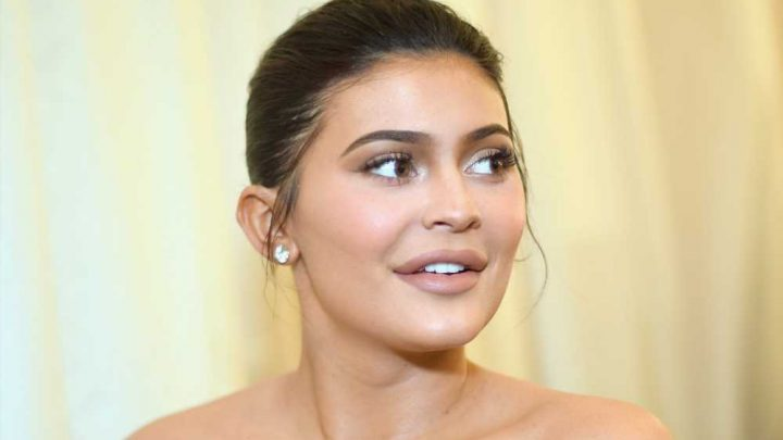 Kylie Jenner honors Caitlyn with trans flag-inspired shoes