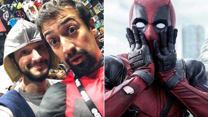 Comic-Con: Lin-Manuel Miranda, Ben Schwartz went undercover