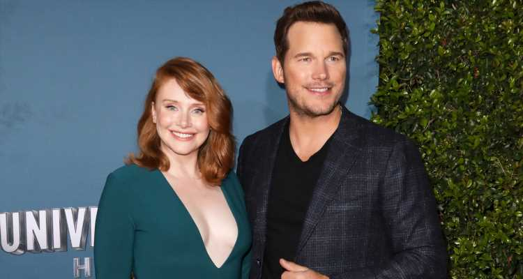Chris Pratt & Bryce Dallas Howard Celebrate 'Jurassic World – The Ride' Grand Opening Celebration!
