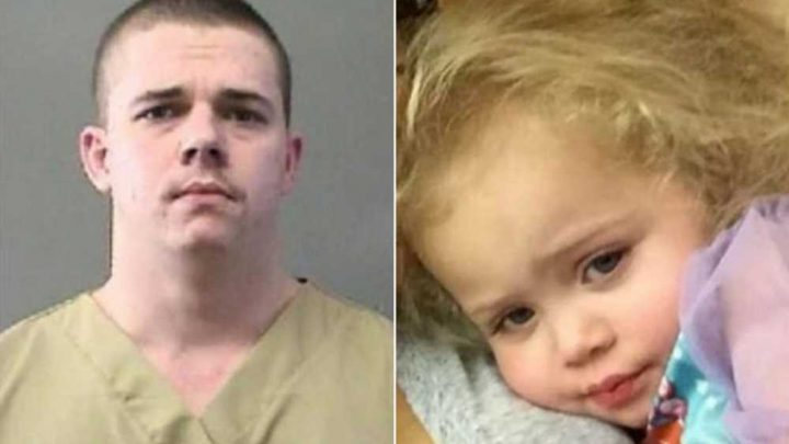 Man admits to killing girlfriend's daughter after claiming she fell down stairs