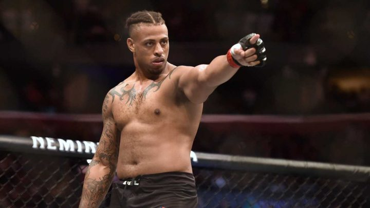 Greg Hardy on time in UFC: 'I'm a more calm, more happy, more deadly version of myself'