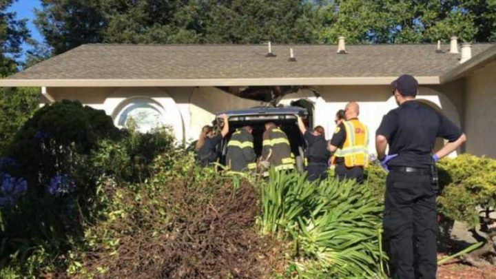 Man on meth crashes into Bay Area home with newborn inside: police
