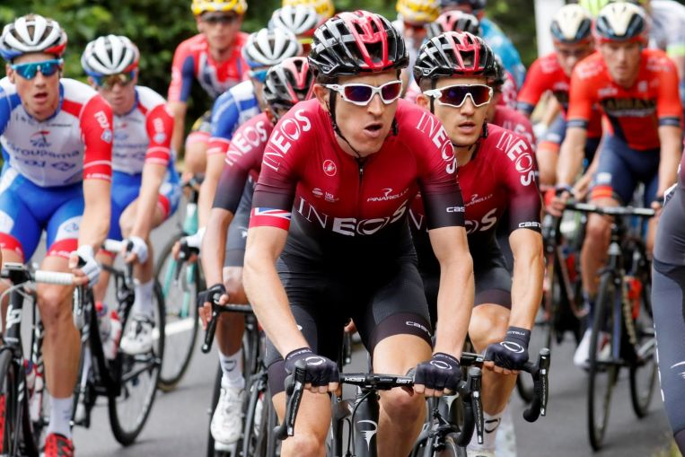 Cycling: Thomas gains time on rivals in brutal Tour de France stage finish