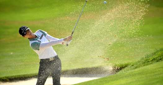 Mi Hyang Lee Leads Evian Championship as Bad Weather Strikes