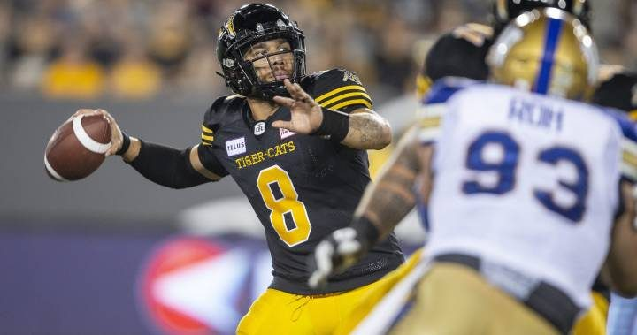 Ed Tait's Five Things for the Blue Bombers showdown in Hamilton Friday night
