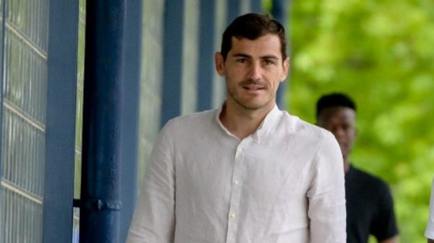 Iker Casillas reports for pre-season duty with Porto two months after having a heart attack