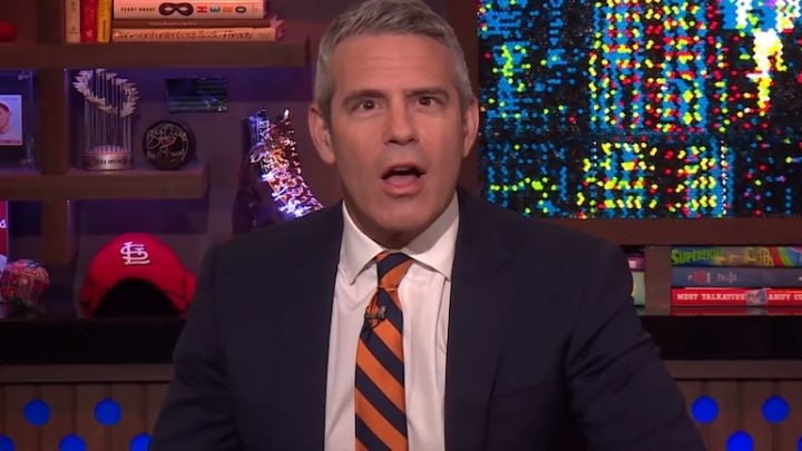 See How Andy Cohen Responds When a 'WWHL' Caller Asks Him Out on a Date