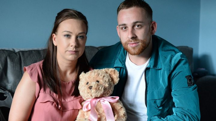 Parents' anguish as baby dies two days before they were due to take her home
