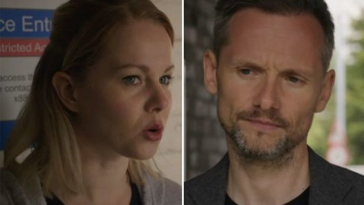 Holby City viewers fear for Chloe as creepy Evan begins stalking her at the hospital
