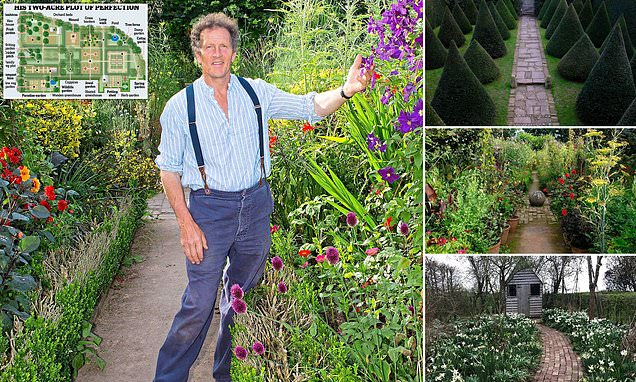 The full Monty behind Britain's best-loved garden: How did he do it?