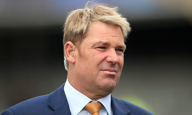 Shane Warne honoured as volcanic landscape is named after him