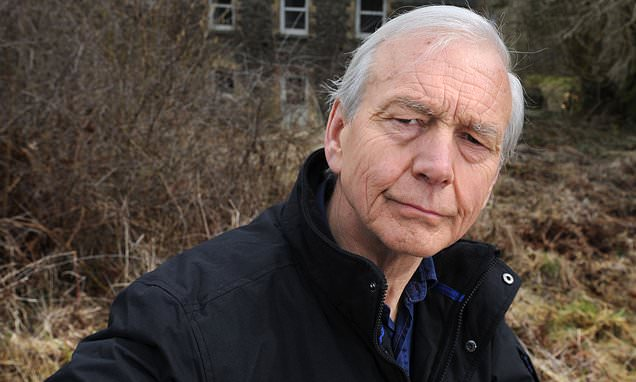 John Humphrys charged at intruder in his garden with pair of secateurs