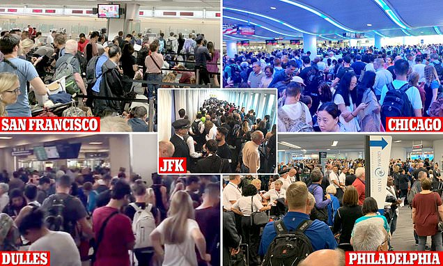 BREAKING NEWS: Computer problem causes delays at US airports