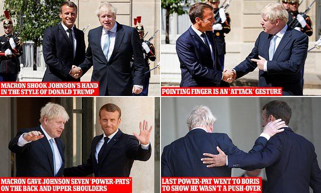Body language expert Judi James analyses PM's meeting with Macron