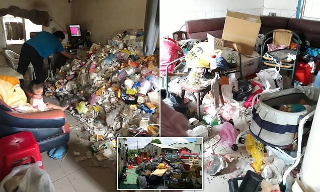Toddlers are rescued from house of filth in Taiwan