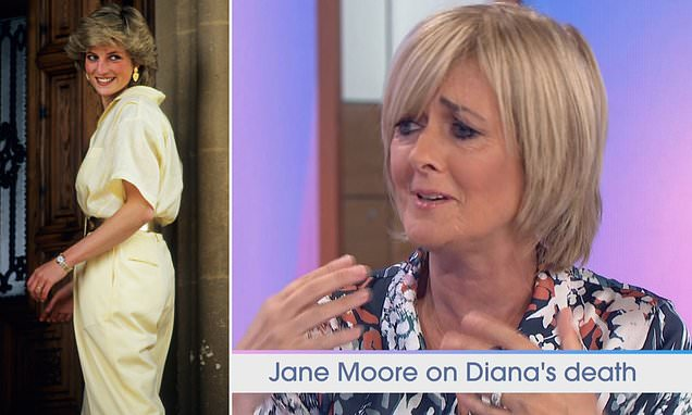 Loose Women: Emotional Jane Moore recalls Princess Diana's death