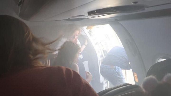 BA passengers 'choke and in tears as staff struggled to open emergency door'