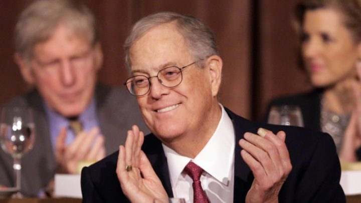 Koch brothers' massive wealth really did reshape US politics