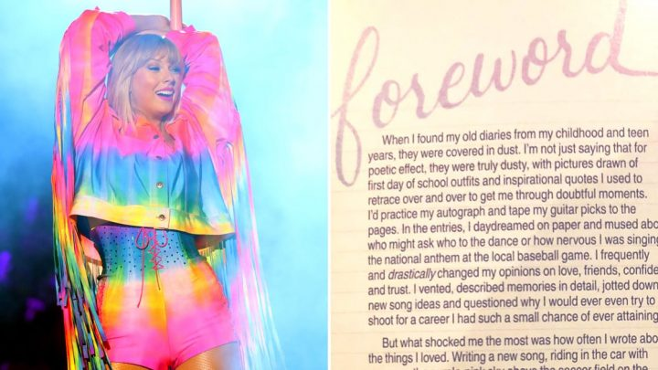 On Lover, Taylor Swift's Foreword Encourages Fans to Let Go of Their Fear and Anxiety